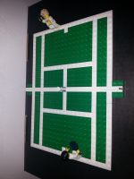 Lego tennis court atempt by MG18