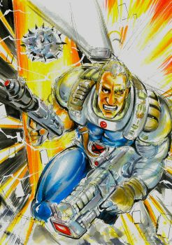 CABLE IN THE AXIS OF TIME by aoasunfire8