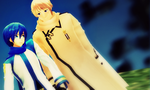 MMD - Russia and Kaito by Shichi-4134