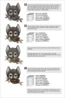 Wolfy portrait tutorial 2 by Silverfox5213