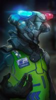 Marno the Cop by TitikAwalCreative