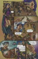 Morrigan Concept: Comic Page 1 by shrouded-artist