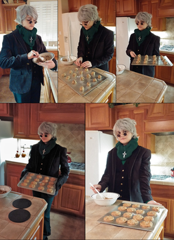 RWBY: Baking with Ozpin by BaconFlavoredCosplay