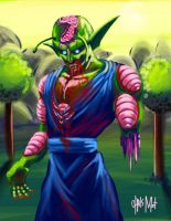 Zombie Piccolo by chrismoet