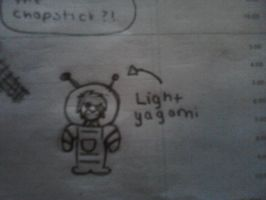 Light yagami in a space suit... by pinky041998