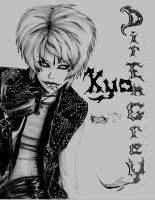 Dir en grey- Kyo by hybridthoughtz