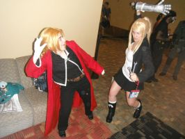 Otakon 2013 - Ed and Winry: Wait, Winry! by Cosplay-Pics-Account