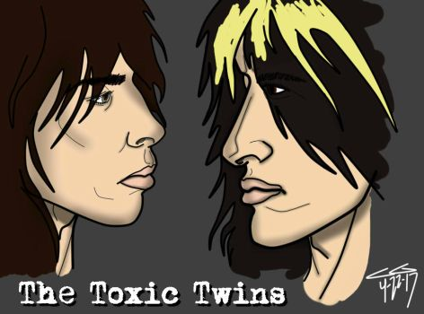 The Toxic Twins by rockstarcrossing