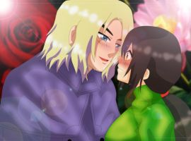 The Rose and The Lotus by Dali-chan510