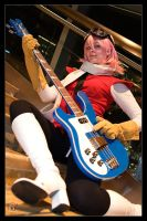 Haruko - Guitar Hero by Kuragiman
