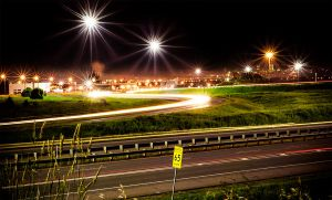 long exposure car lights 2nd pattern by Custommaster