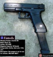 Glock 18c Profile by Umbrella-Corporation