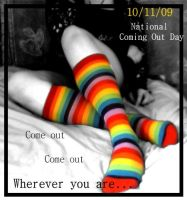 National Coming Out Day by Serenityfrogluvr