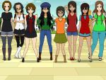 Genderbend of my Guy friends by Roronoa-D-Riku