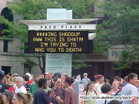 Nagging sign.. by Great-Gosh