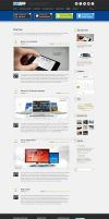 Blog Page of MyApp Wordpress Theme by ait-themes