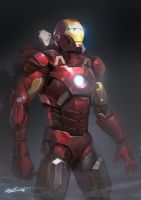 Iron Man Mk7 by JUNLING