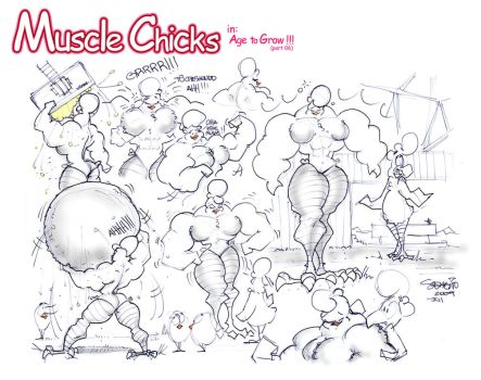 Muscle Chicks 028 by MUS1969