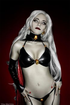Lady Death cosplay by Ytka Matilda by YtkaMatilda