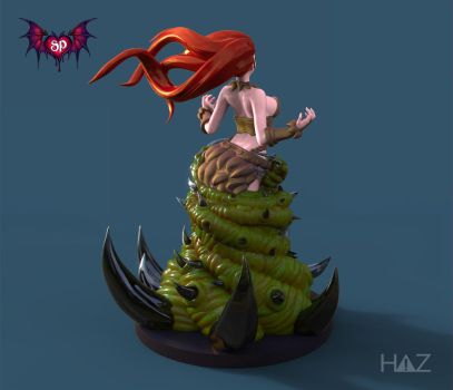 Succubus Publishing: Devil Summoner Back View by HazardousArts