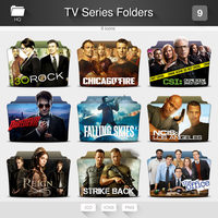 TV Series Folders - PACK 09 by limav
