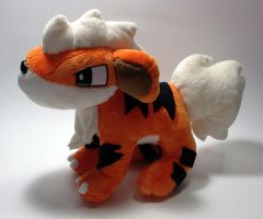 Pokemon - Growlithe custom plush by Kitamon
