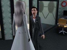 Sims: HAL...o_o.. by bloodwolf8