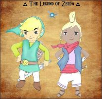 Link And Tetra by Anawielle