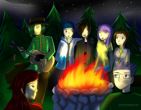 Campfire by ChronoWither