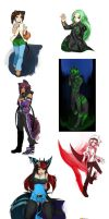 Artpack I have so many dont know what no. by Girutea