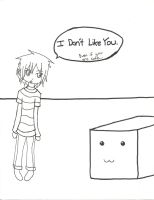 Art Block and me -I Don't Like You- by darkkiller101