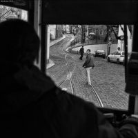 Caught by the tram by Markotxe