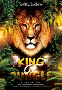 King-Of-Jungle by Styleflyers