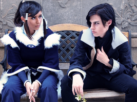 Korra Cosplay - You Gotta Get Him For Me by Aicosu