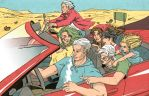 House of M on a roadtrip by estrellavega