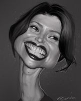Gemma Arterton Caricature by NightshadeBerry