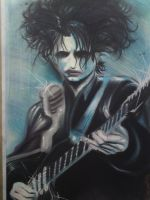 Robert from The Cure by atzalan