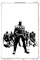 Secret Avengers 05: Cover Art by MikeDeodatoJr