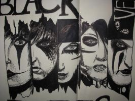 Black Veil Brides by yunastar96