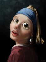 Girl with a Pearl Earring by m1rc0