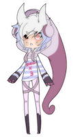 New Mew Gijinka Adopt {SOLD} by DubQueen