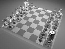 Chess set again... by Inconsistancy
