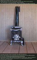 Victorian Wood Stove Stock 3 by DeviousRose