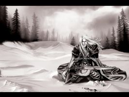 Arthas from Warcraft no color by AHague