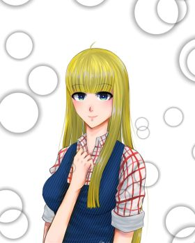 Claire (Harvest Moon) by AmeOfTheSEA