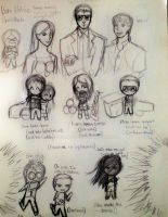 Burn Notice Sketches by JunoDagger