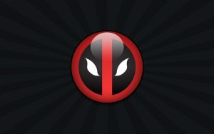 Deadpool Logo 01 Wallpaper by Namelessv1