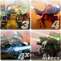 MechWarrior Icons by KatWylder