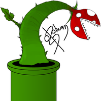 Mario Plant by Lageon