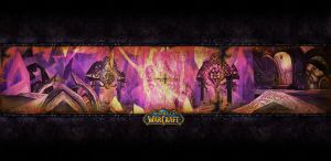 The Exodar by wowculture
